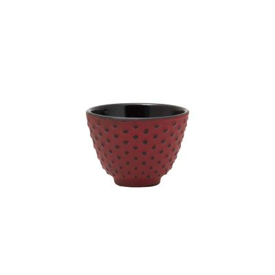 120ml terracotta cast iron cup 021782