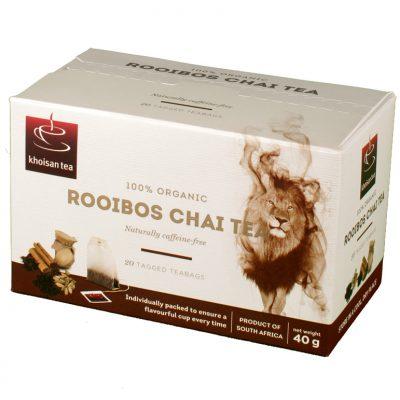 Khoisan Chai Rooibos 20box