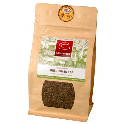 Khoisan Refresher Peppermint-Rooibos loose bag
