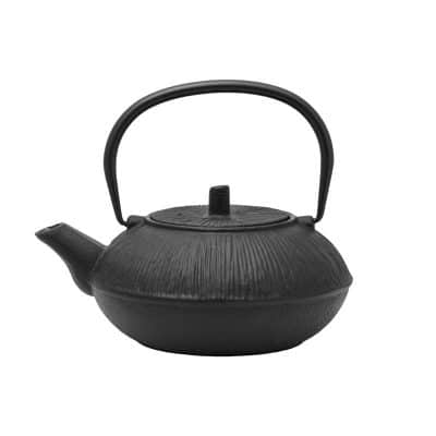 850ml black cast iron teapot 021762