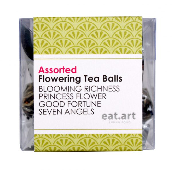 Eat Art Flowering Tea Ball Assorted