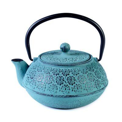Cast iron pot duck blue 600ml