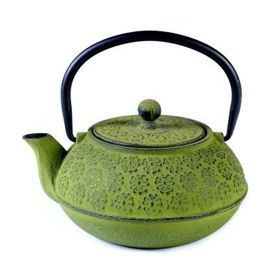 Cast iron pot green 600ml