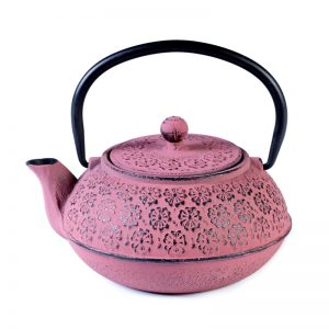 Cast iron pot pink 600ml