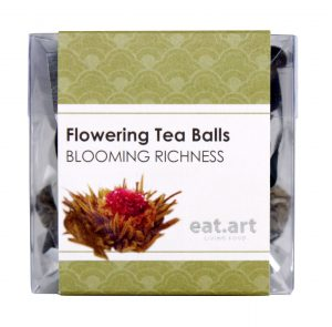 Flowering tea ball blooming richness