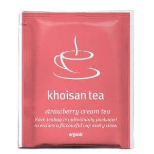Khoisan Strawberry Cream Tea front