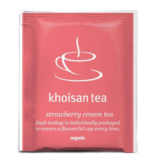 Khoisan Strawberry Cream Tea front