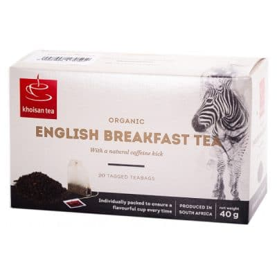 khoisan english breakfast tea bags