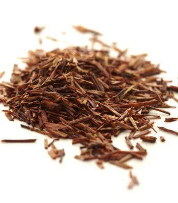 Rooibos tea leaves