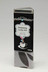 The Tea Merchant darjeeling lucky hill tin