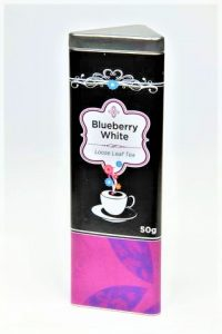 Blueberry White Tin