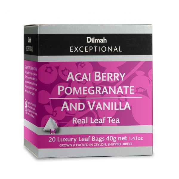 dilmah exceptional acai berry and pomegranate