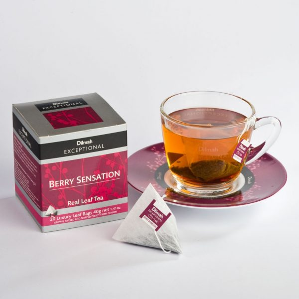 dilmah exceptional berry sensation cup