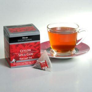 dilmah exceptional ceylon spice chai cup