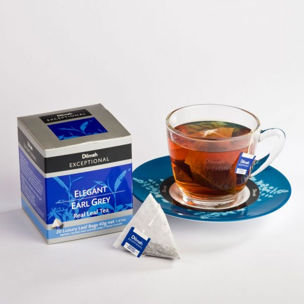 dilmah exceptional elegant earl grey cup