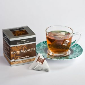 dilmah exceptional Italian almond cup