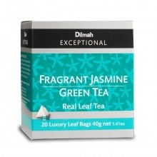 dilmah exceptional jasmine and green tea Box