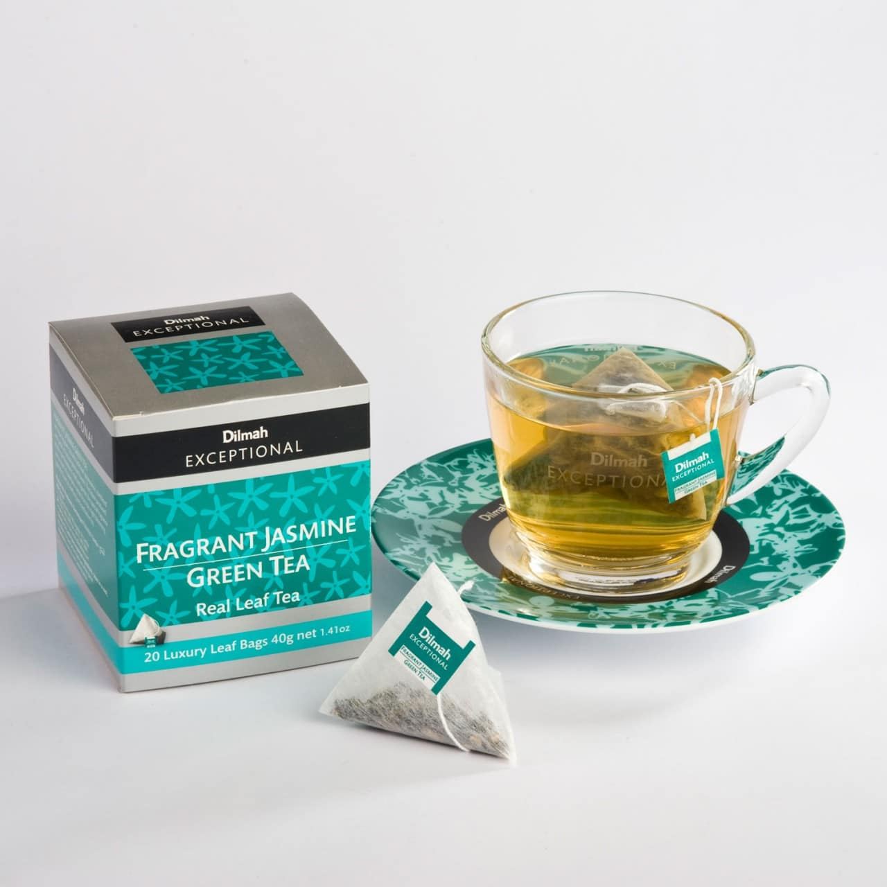 Dilmah fragrant jasmine green tea exceptional the tea journey dilmah exceptional jasmine cup izmirmasajfo Images