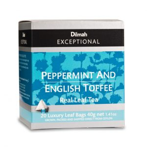dilmah exceptional peppermint english toffee