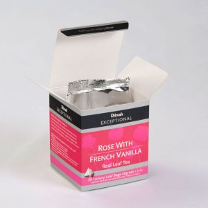 dilmah rose french vanilla open box