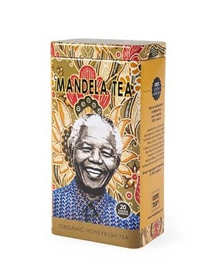 mandela tea honeybush tin