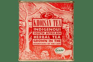Khoisan Organic Bourbon Vanilla Rooibos loose tin