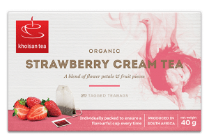Khoisan Strawberry Cream Tea
