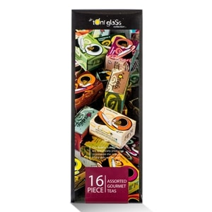 toni glass 16 piece gift box
