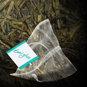 toni glass lemon green bag