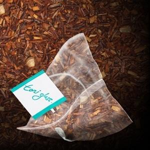toni glass rooibos chai bag