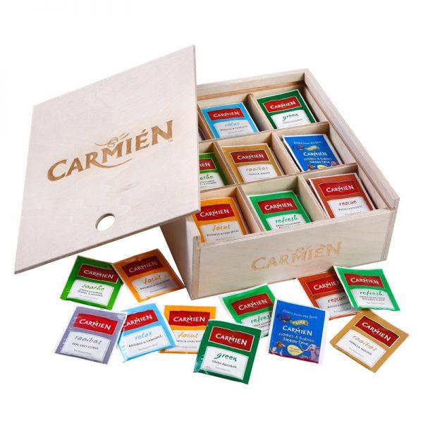 Carmien Wooden Guest House Box - big open