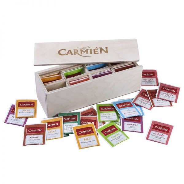 Carmien Wooden Guest House Box - small open