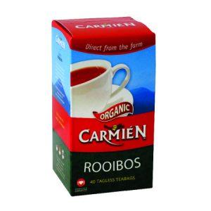 Carmien rooibos 40 tagless teabags