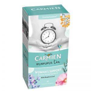 carmien mama tea womens support box