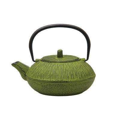 Cast Iron Teapot - Lime Green - 850ml
