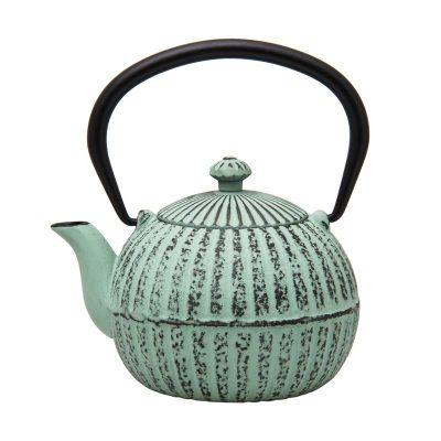 Cast Iron Teapot - Pastel Green - 500ml