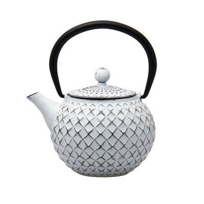 Cast Iron Teapot - White - 500ml