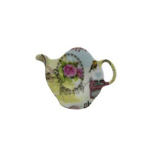 teabag holder with love