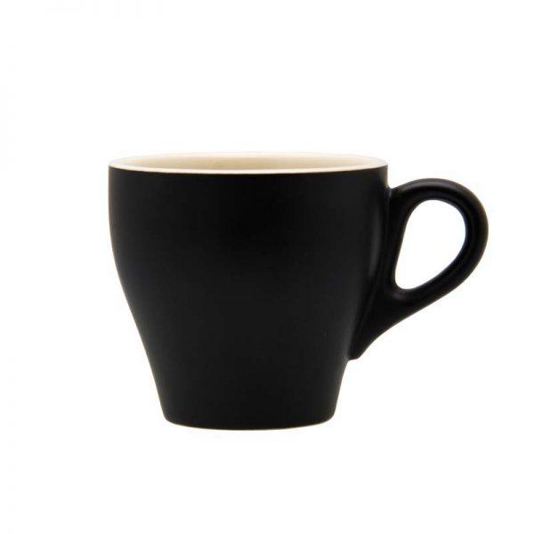 Matt Black 200ml Stoneware cup
