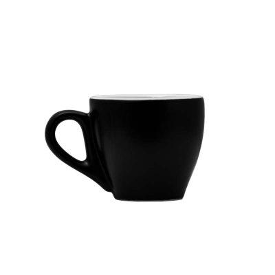 Matt Black Espresso 90ml Stoneware cup