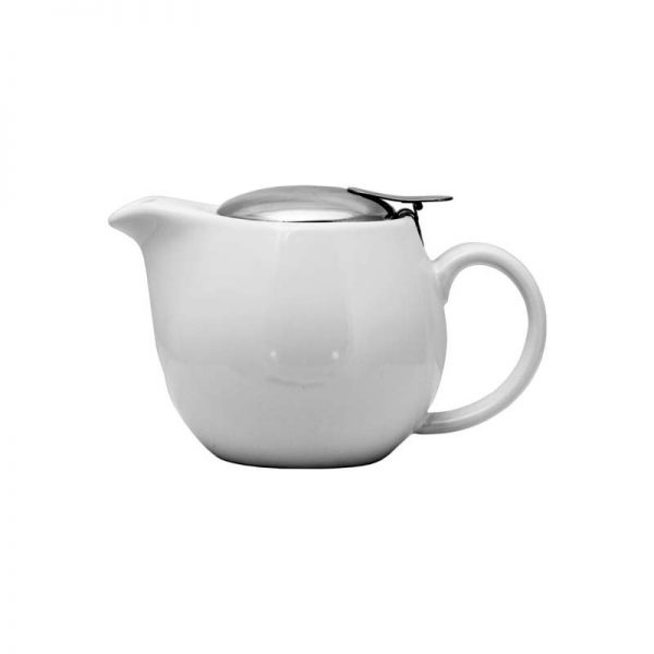 Stoneware Teapot Gloss White 400ml