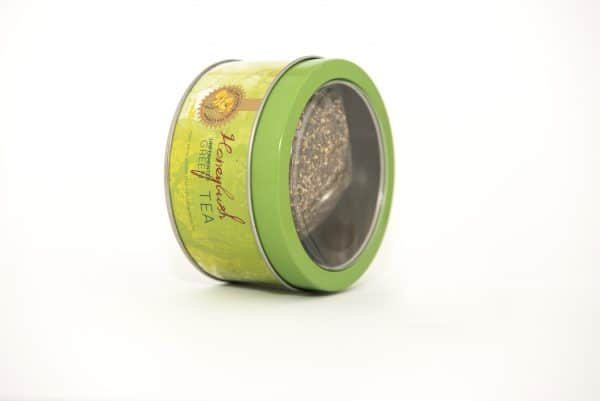 Cape Honeybush Tea Company - Green Honeybush round tin