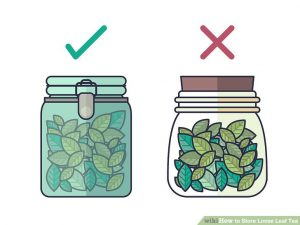 How to Store Loose leaf teas