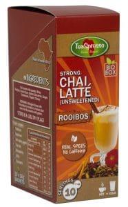 Teaspresso strong Chai latte