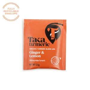 Taka Turmeric Ginger Lemon biodegradable teabag