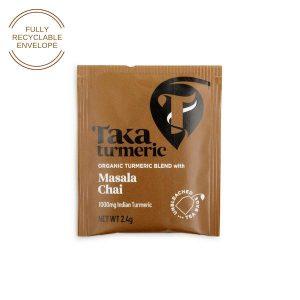 Taka Turmeric Masala Chai single tea bag