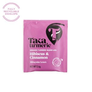 Taka Turmeric Tea Hibiscus Cinnamon individual teabag