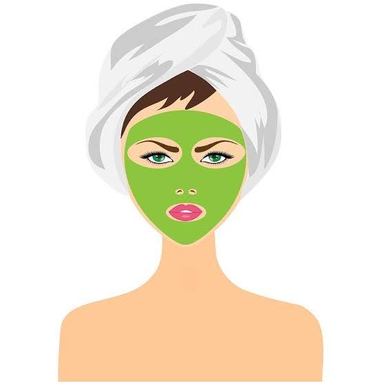 green tea skincare face mask