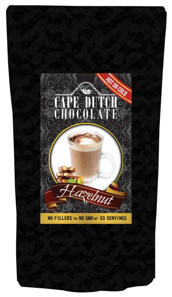 teaspresso hazelnut hot chocolate 1kg