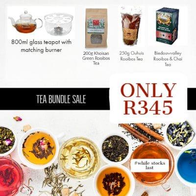 Tea sale